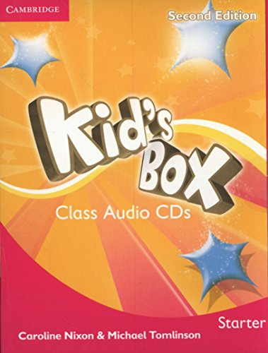 Kid's Box Starter Class Audio CDs 2: Nixon, Caroline