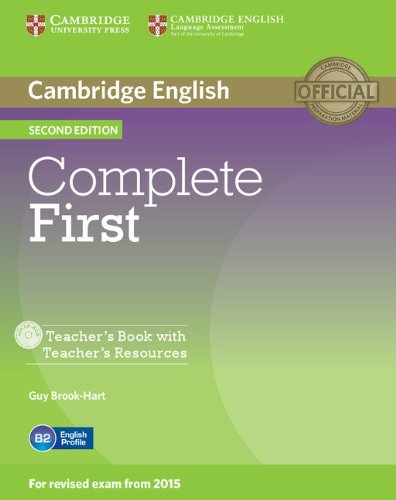 9781107643949: Complete First Teacher's Book with Teacher's Resources CD-ROM Second Edition