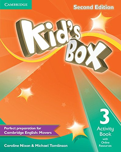 9781107644007: Kid's Box Level 3 Activity Book with Online Resources Second Edition - 9781107644007