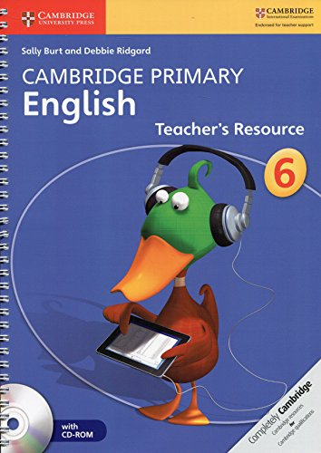 9781107644687: Cambridge Primary English Stage 6 Teacher's Resource Book with CD-ROM