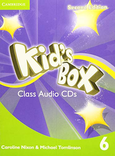 9781107645028: Kid's Box Level 6 Class Audio CDs (4)