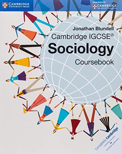 Cambridge IGCSE Sociology Coursebook (Cambridge International Examinations): Blundell, Jonathan