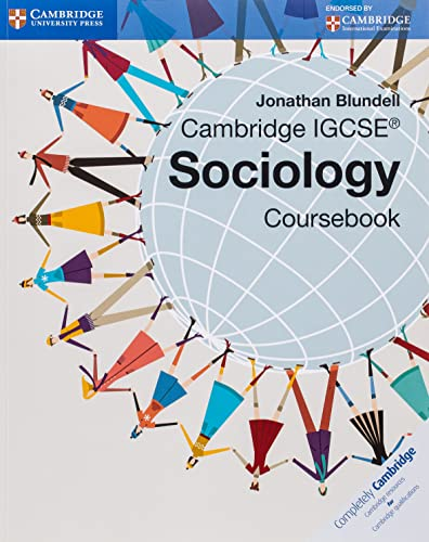 Cambridge Igcse Sociology Coursebook: Blundell, Jonathan