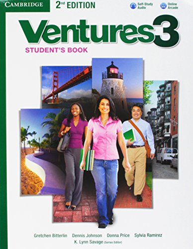 Ventures Level 3 Super Value Pack Student's Book with Audio CD, Workbook with Audio CD, Online ...