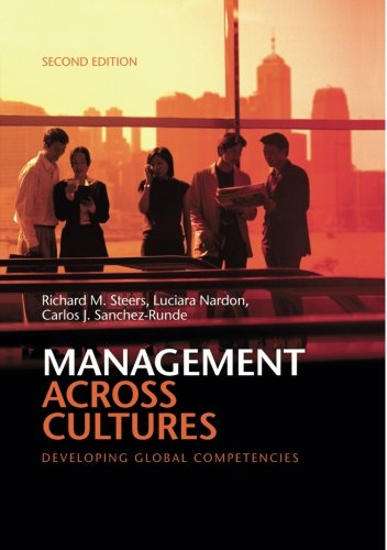9781107645912: Management across Cultures: Developing Global Competencies