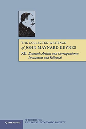 9781107646209: The Collected Writings of John Maynard Keynes (Volume 12)