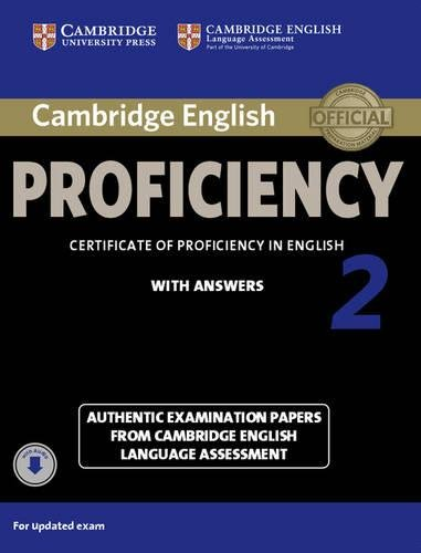 9781107646513: Certificate of Proficiency in English With Answers 2. Student's Book with Answers. Con Audio Descargable (CPE Practice Tests)