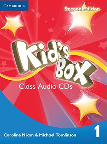 9781107647527: Kid's Box Level 1 Class Audio CDs (4)