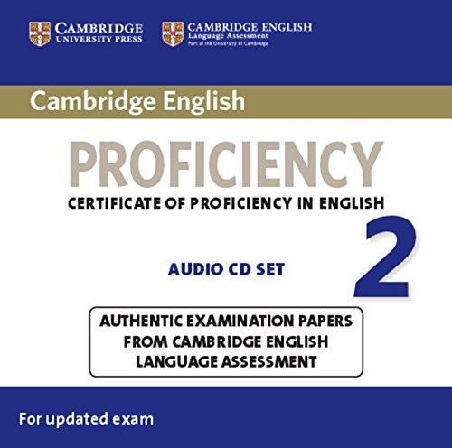 9781107647640: Cambridge English Proficiency 2 Audio CDs (2) (CPE Practice Tests)