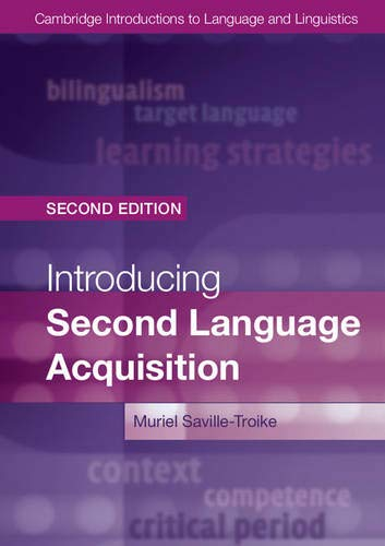 9781107648234: Introducing Second Language Acquisition (Cambridge Introductions to Language and Linguistics)