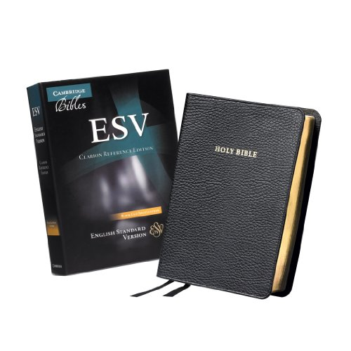 ESV Clarion Reference Edition Black Calf Split Leather ES483 : X