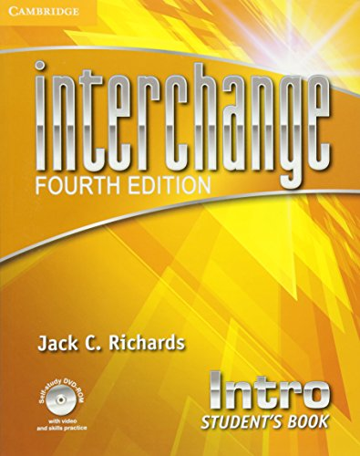9781107648661: Interchange 4th Intro Student's Book with Self-study DVD-ROM (Interchange Fourth Edition)