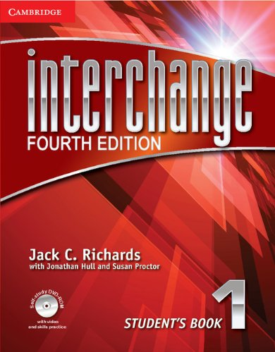 9781107648678: Interchange 4th 1 Student's Book with Self-study DVD-ROM (Interchange Fourth Edition)