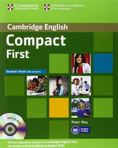 9781107648975: Compact First Student's Book with Answers with CD-ROM