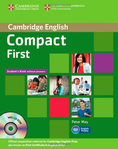 9781107648982: Compact First Student's Book without Answers with CD-ROM