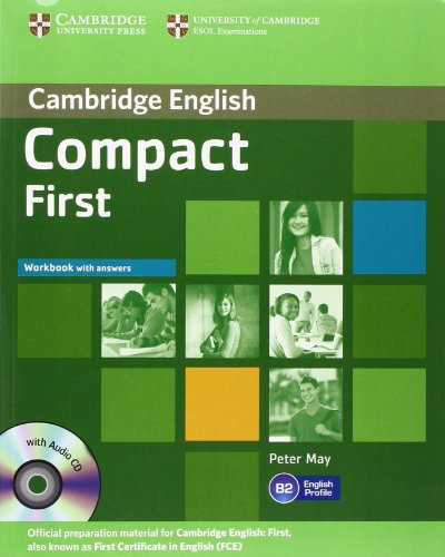 Compact First Workbook with Answers with Audio: Peter May