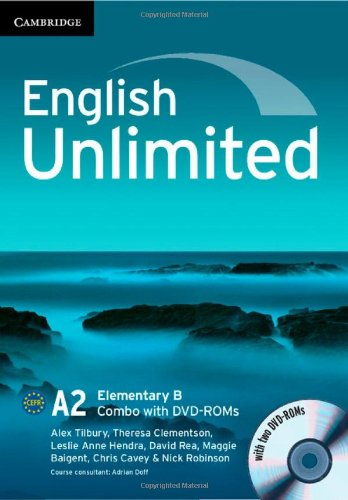 9781107649286: English Unlimited Elementary B Combo with DVD-ROMs (2)