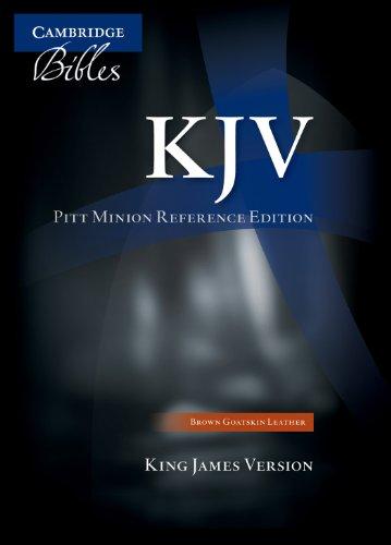 KJV Pitt Minion Reference Edition KJ442:X Black Imitation Leather: Baker Publishing Group