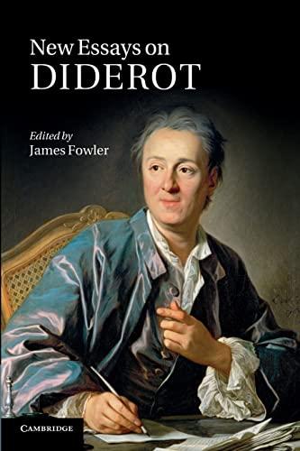 9781107649606: New Essays on Diderot