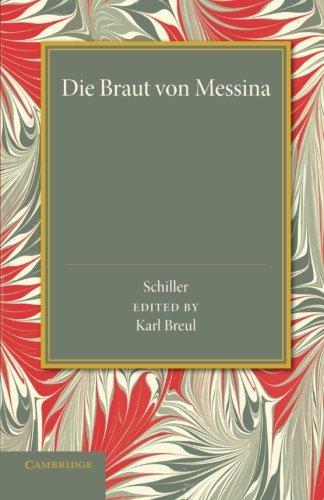 9781107649637: Die Braut von Messina oder Die Feindlichen Brüder