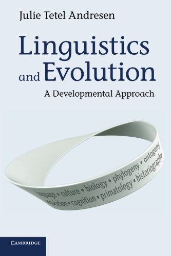 9781107650114: Linguistics and Evolution: A Developmental Approach