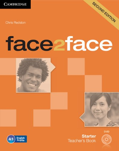 9781107650411: face2face Starter Teacher's Book with DVD Second Edition