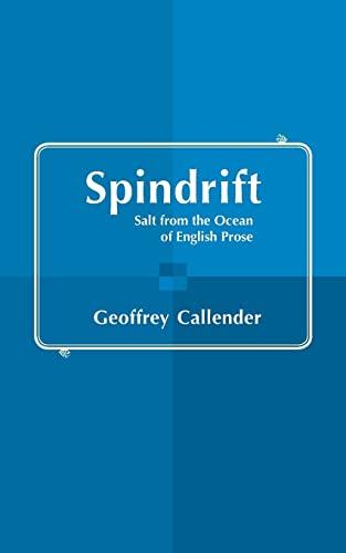 Spindrift: GEOFFREY CALLENDER