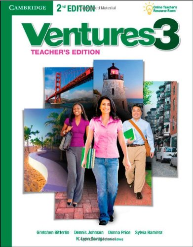 Download Ventures Level 3 Teacher's Edition with Assessment Audio CD/CD-ROM
