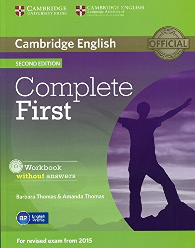 9781107652200: Complete first second edition. Workbook without answers with Audio CD [Lingua inglese]