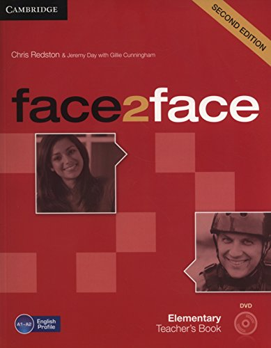 9781107654006: face2face 2nd Elementary Teacher's Book with DVD
