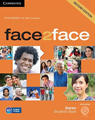 9781107654402: face2face Starter Student's Book with DVD-ROM