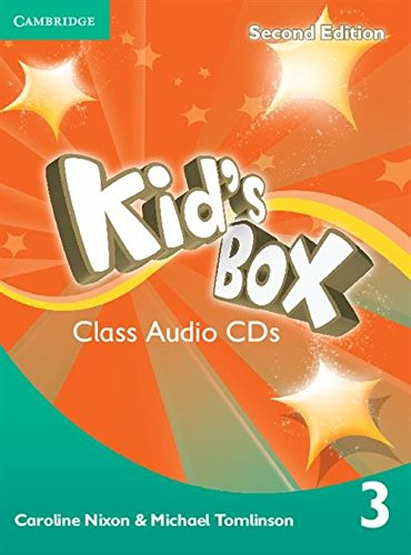 Kid's Box Level 3 Class Audio CDs: Nixon, Caroline