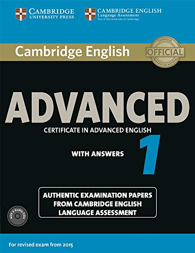 9781107654969: Cambridge English Advanced 1 for Revised Exam from 2015 Student's Book Pack (Student's Book with Answers and Audio CDs (2)): Authentic Examination ... Language Assessment (CAE Practice Tests)