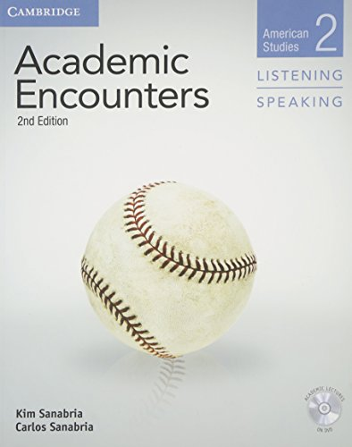 Academic Encounters Level 2 Student's Book Listening and Speaking with DVD: American Studies