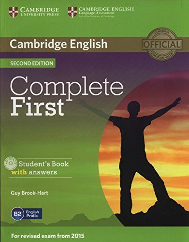 9781107656178: Complete first certificate. Student's book with answers. Con espansione online. Per le Scuole superiori. Con CD-ROM