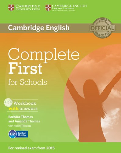 9781107656345: Complete First for Schools Workbook with Answers with Audio CD