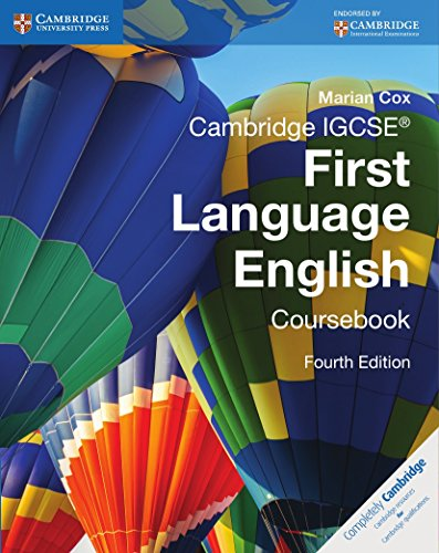 Cambridge IGCSE First Language English Coursebook (Cambridge: Cox, Marian