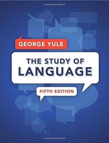 9781107658172: The Study of Language