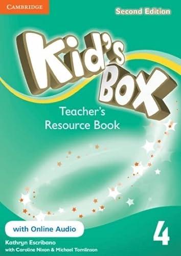 9781107658493: Kid's Box Level 4 Teacher's Resource Book with Online Audio - 9781107658493