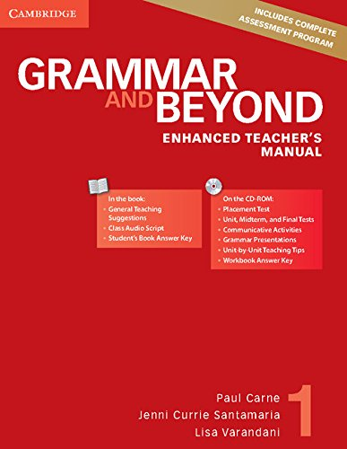 9781107658578: Grammar and Beyond Level 1 Enhanced Teacher's Manual with CD-ROM