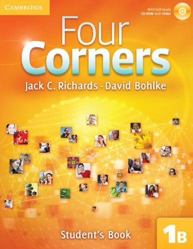 9781107658745: Four Corners Level 1 Student's Book B with Self-study CD-ROM and Online Workbook B Pack
