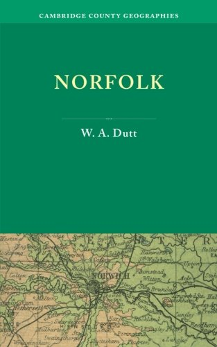 9781107658776: Norfolk (Cambridge County Geographies)