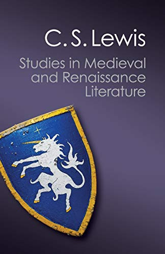 9781107658929: Studies in Medieval and Renaissance Literature (Canto Classics)