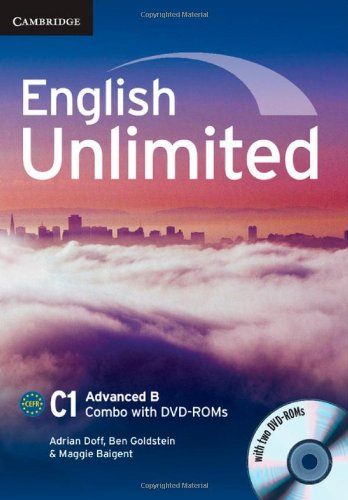 9781107659001: English Unlimited Advanced B Combo with 2 DVD-ROMs