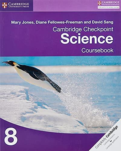 9781107659353: Cambridge checkpoint science. Coursebook. Per le Scuole superiori. Con espansione online: 8 (Cambridge International Examin)