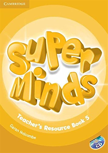 9781107659490: Super Minds Level 5 Teacher's Resource Book with Audio CD