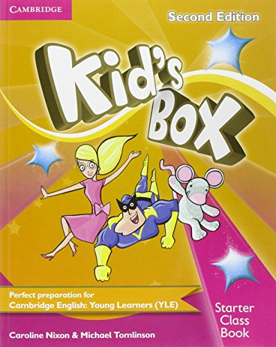 9781107659865: Kid's Box Starter Class Book with CD-ROM