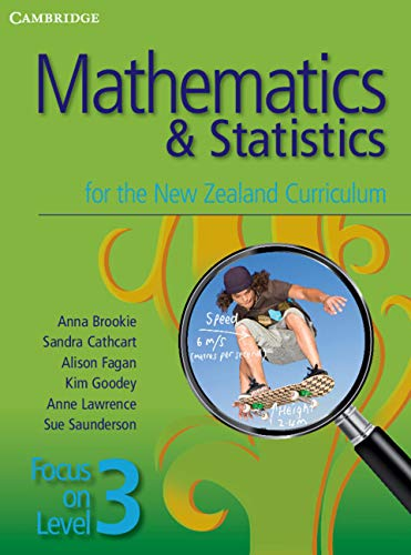 9781107659896: Mathematics and Statistics for the New Zealand Curriculum Focus on Level 3