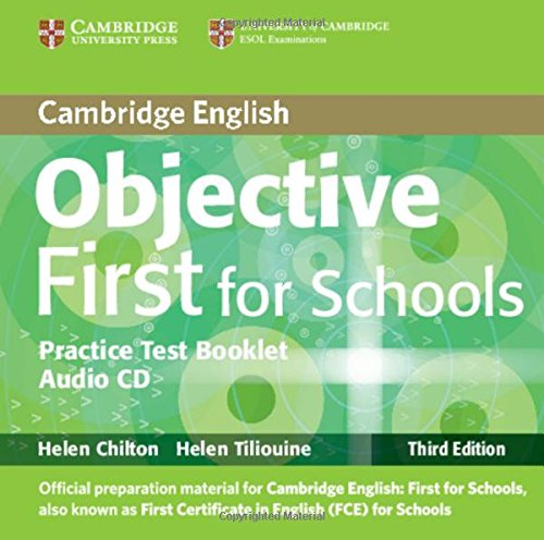 9781107660410: Objective first certificate. Student's book-Test booklet. Without answers. Con CD Audio. Per le Scuole superiori