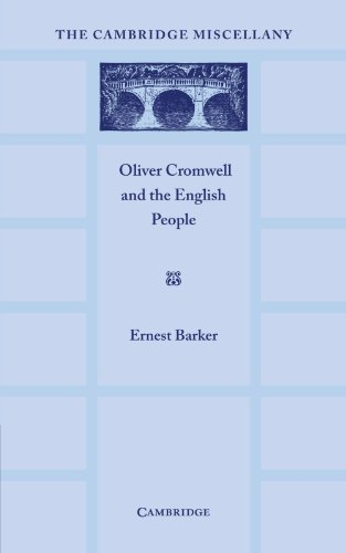 9781107660717: Oliver Cromwell and the English People (The Cambridge Miscellany)